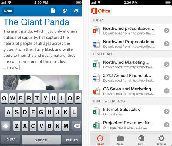 office iphone 2 Microsoft Office for iPhone