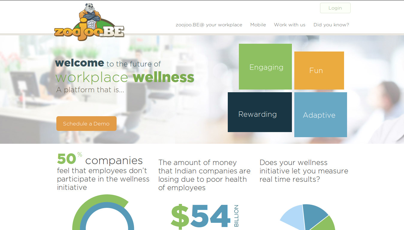 zoojoo.BE helps you keep your employees healthier