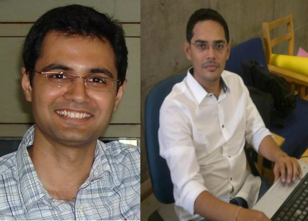 NationsRoot.com Co-founders : Jwalant N Patel ( L) and Chintan H Trivedi (R)