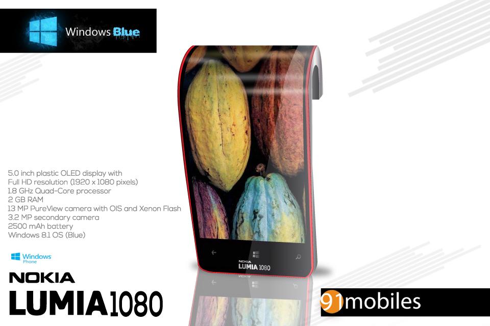 Nokia Lumia 1080 Concept Phone