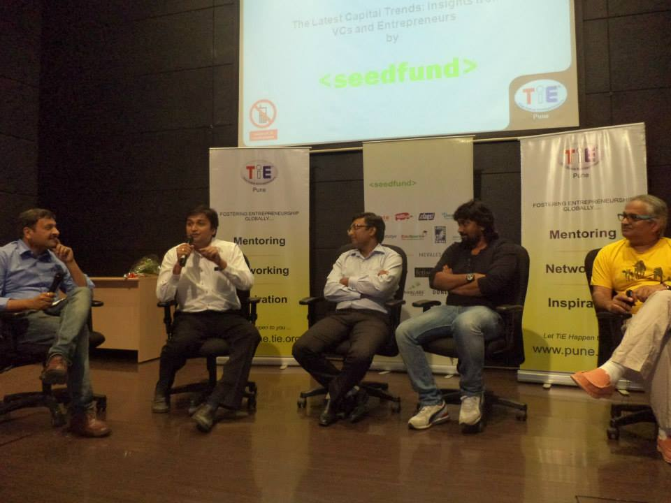 Seedfund1 TiE Pune Session on Fund Raising in association with Seedfund : 28th June Event Coverage