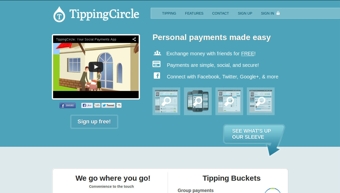 Using the TippingCircle for Fund Raising