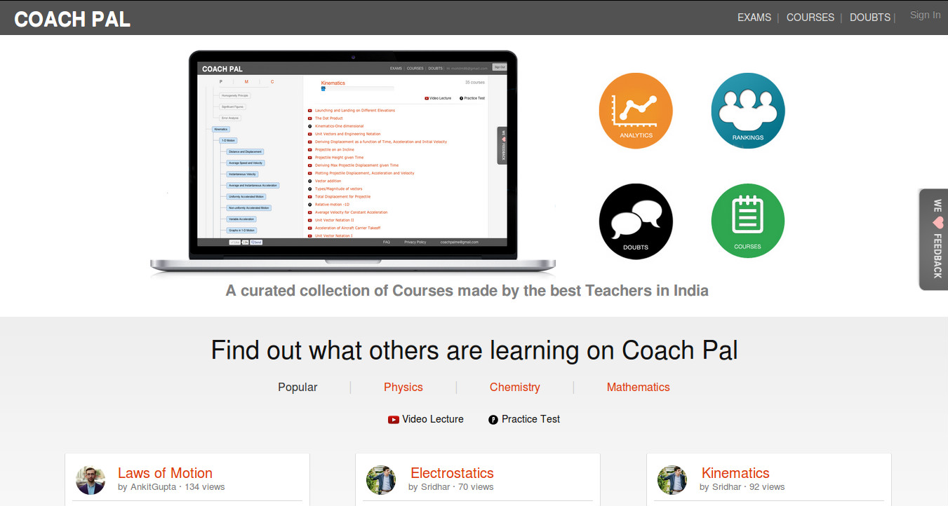 Coach Pal - Curated Collection of Courses by the Best Teachers