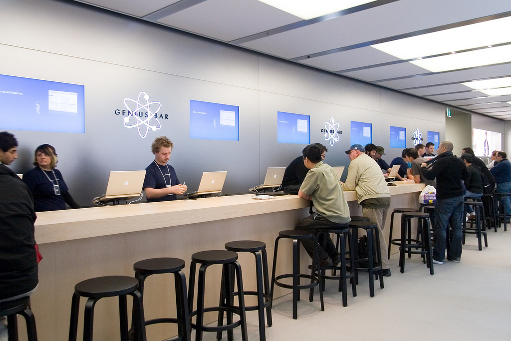 genius bar Do you really mean it when you say Customer Service?