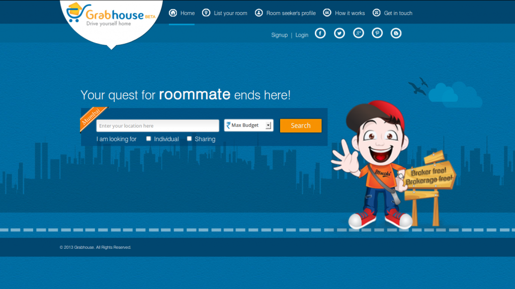 grabhouse 1 1024x575 GrabHouse   Pay No Brokerage Fee and still Find a Good Place to Stay