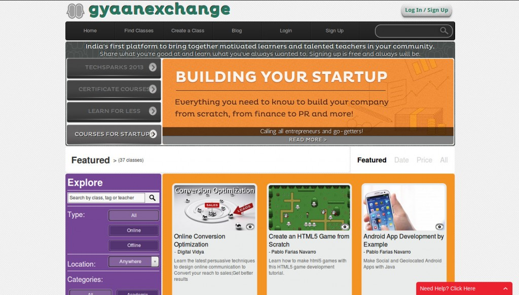 gyaanexchange 2 1024x583 GyaanExchange   Learn Something New