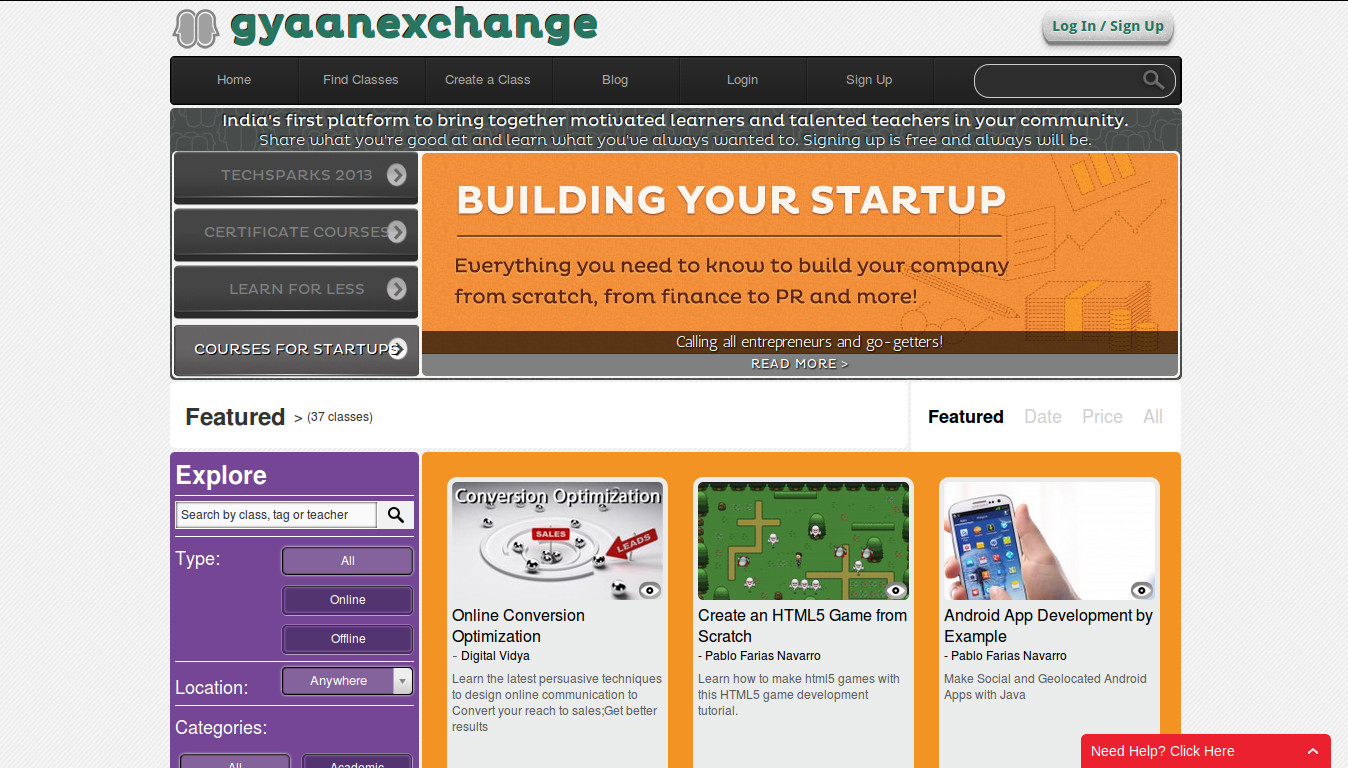 GyaanExchange - Learn Something New