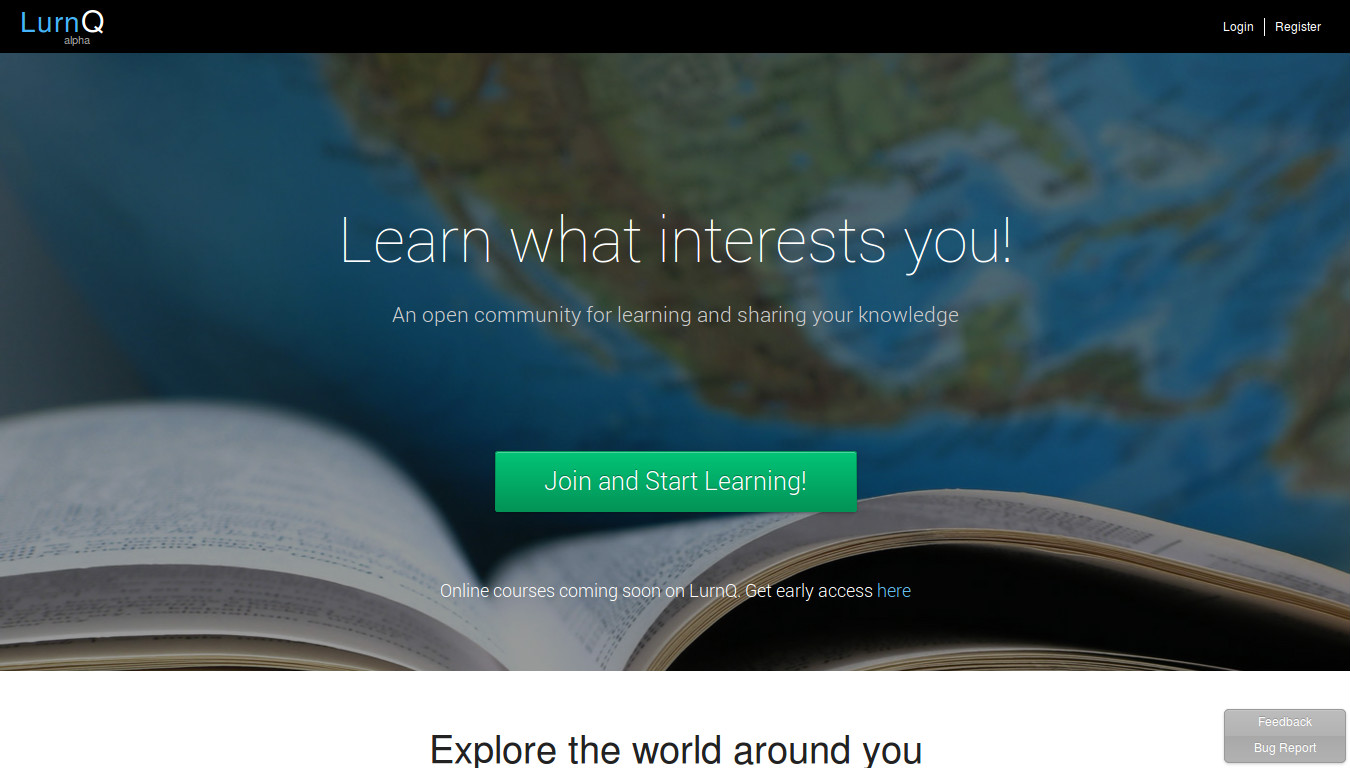 LurnQ.com - Makes Online Learning more Social and Interactive