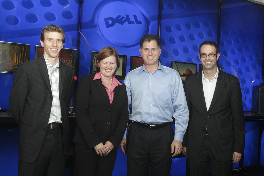 Why is Dell trying to take the Business Private?