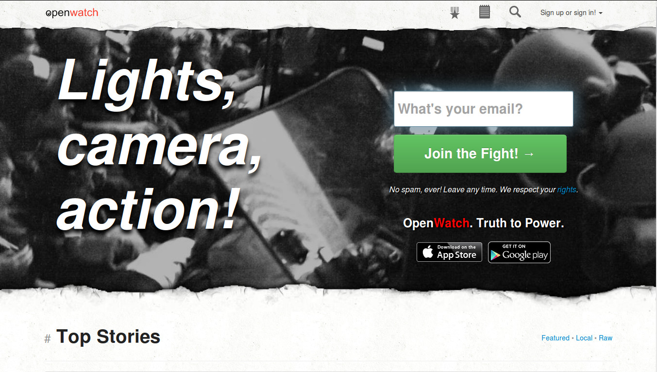 OpenWatch wants to become the Video Platform of every Citizen Journalist around the World