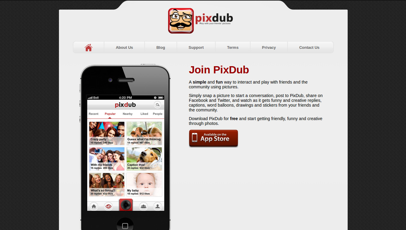 PixDub - Play with Every Picture