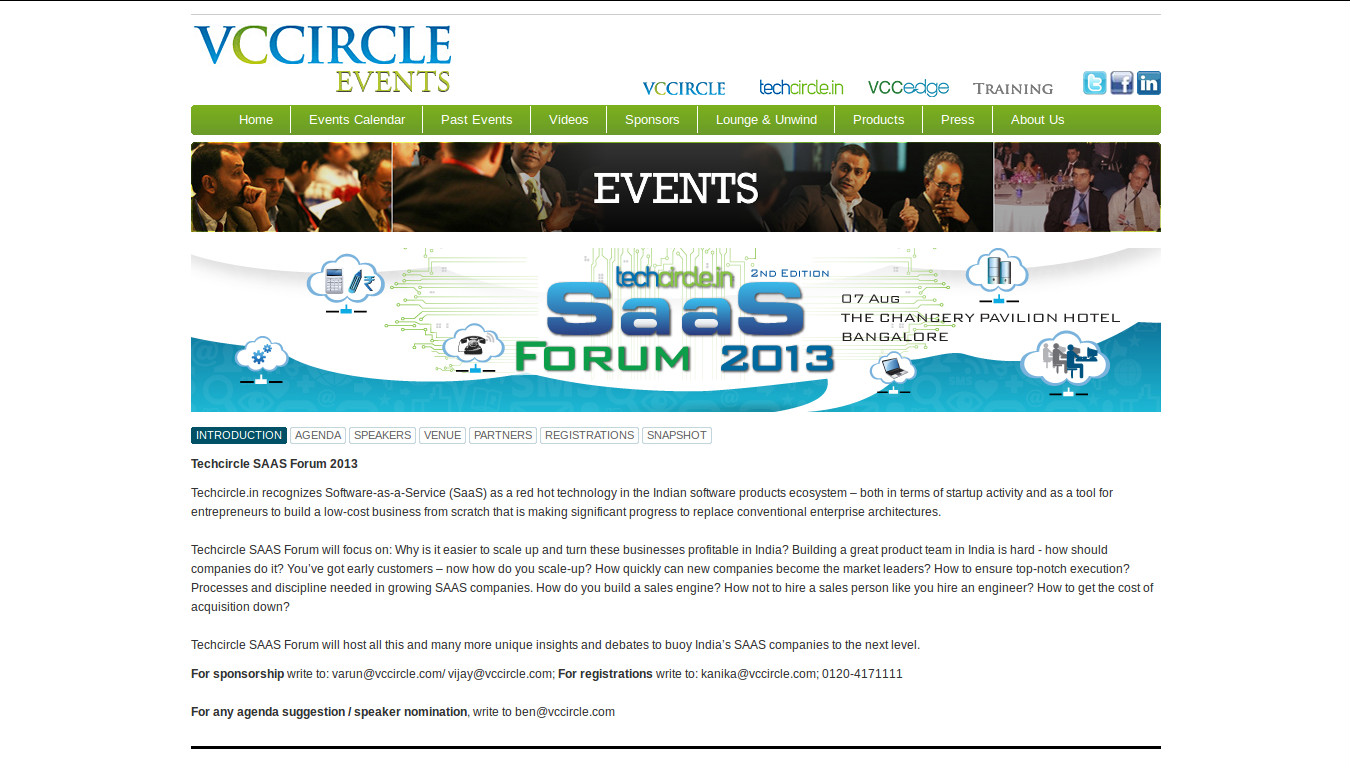 SaaS Products and Companies to be Showcased on August 7 in Bangalore