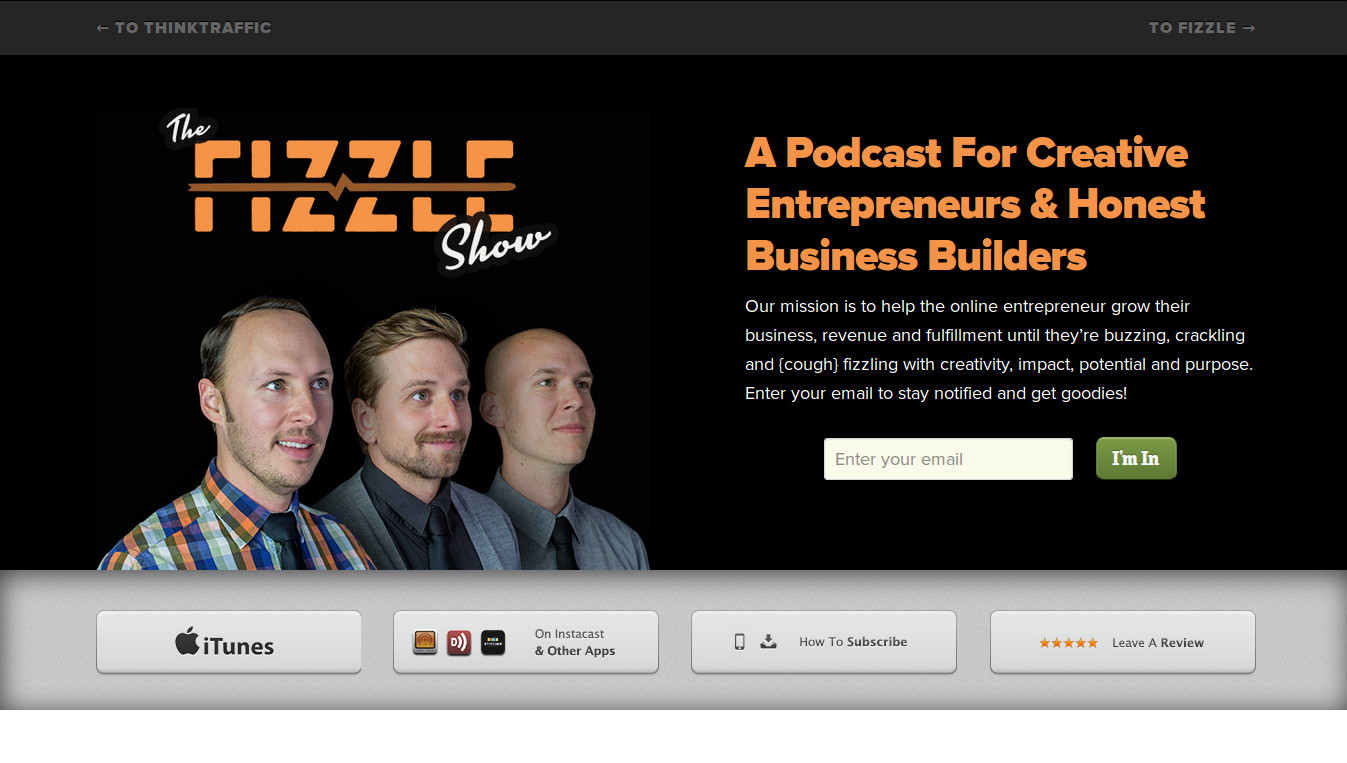 The Fizzle Show Podcast - Learn From The Experts On How To Prevent Your Business Fizzling Out!