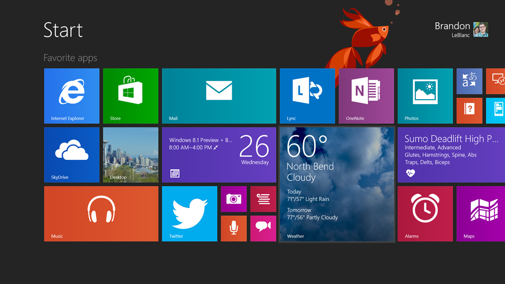 Microsoft's Latest Operating System Windows 8.1