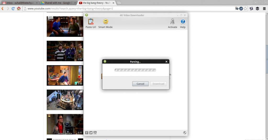 4k parsing video