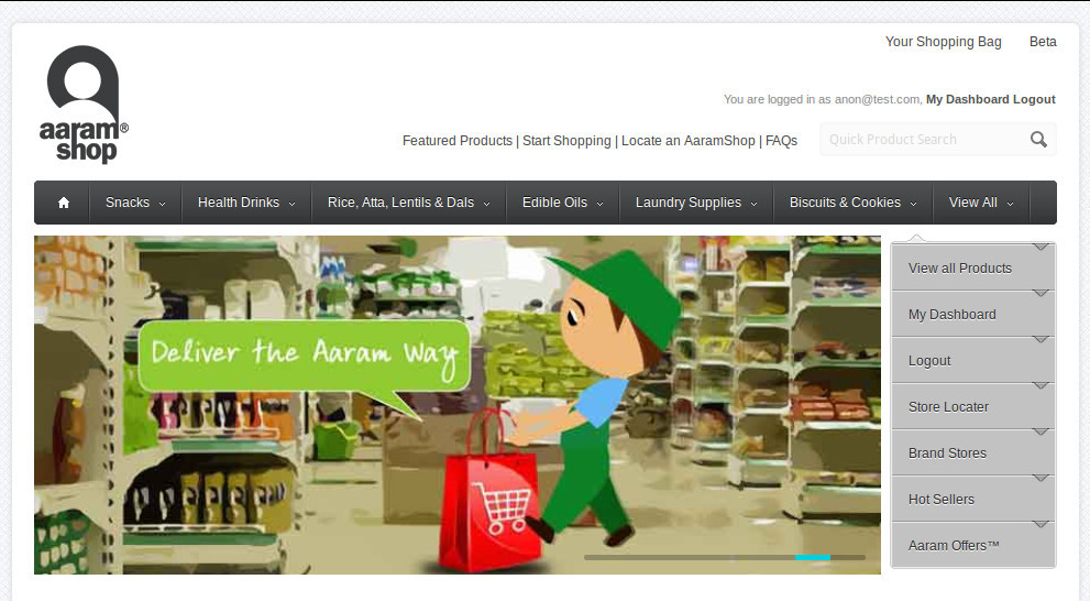 Delhi-based AaramShop.com Launches Services in Pakistan