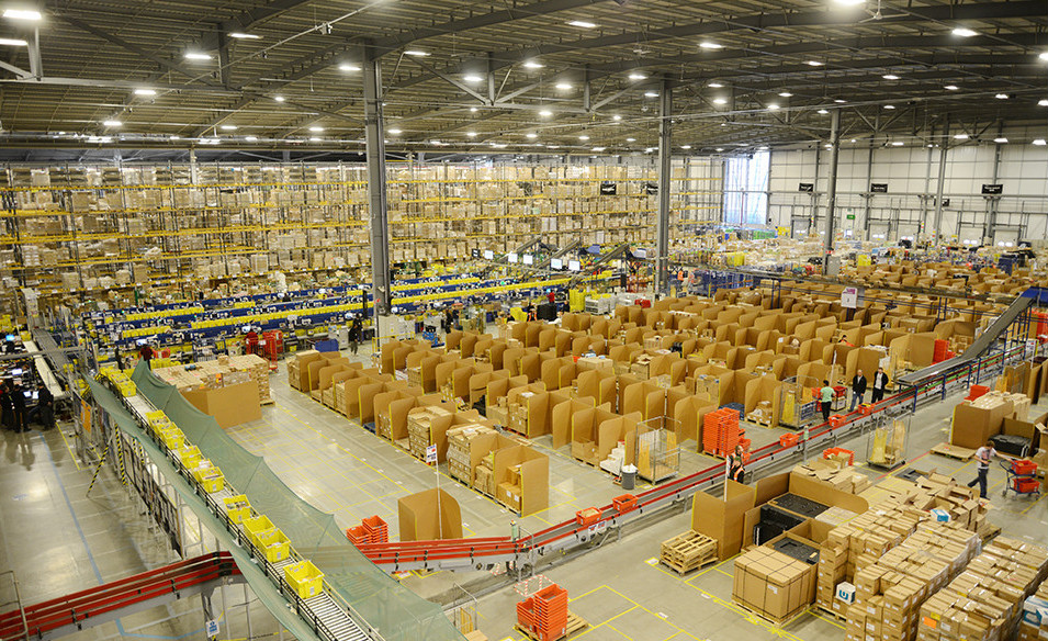 Amazon Focuses on Warehouses to Speed up Delivery and Step up the Competition