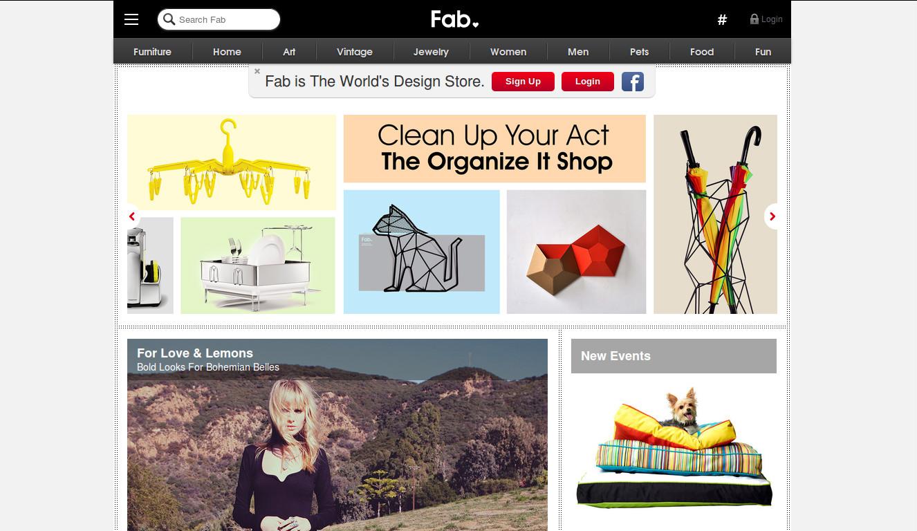 Fab.com Raises $10 Million from SingTel Plans to move into Asian Markets