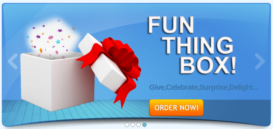 FunThingStore - It Can be Anything in the Box