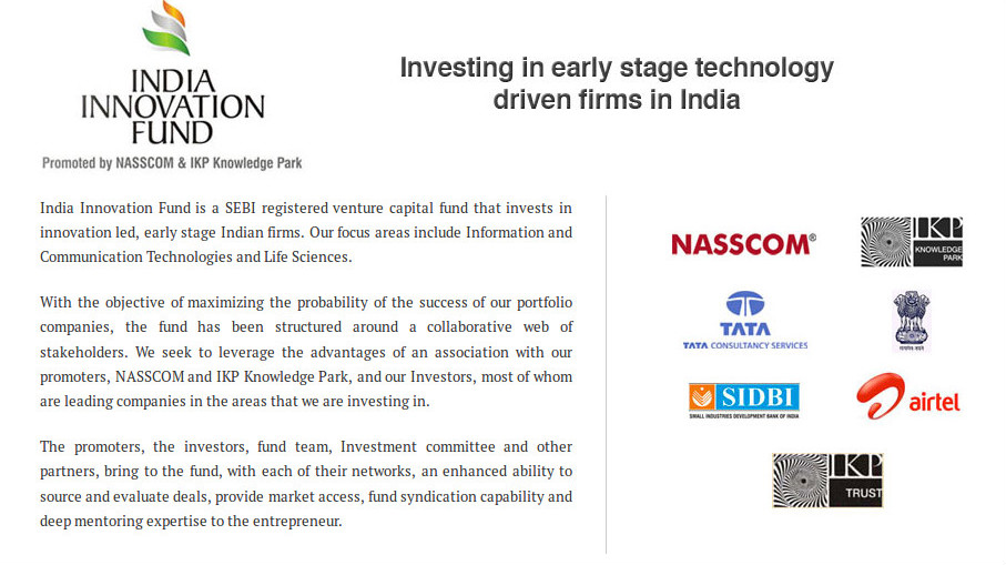 An exclusive interview with Ashwin Raguraman, COO India Innovation Fund