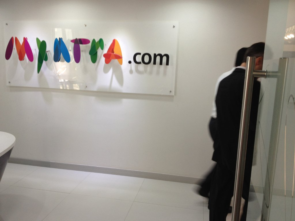 myntra 1 Myntra.com is taking it to the next Level   Delivers Products Within 1 Hour