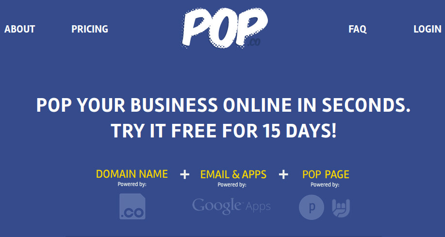 Pop.co - Launch an Online Business in Seconds