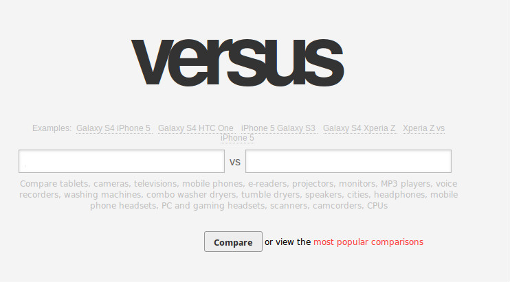 versus 3 Versus.com Plans to Hire a Lot of New Staff   Wants to become the Wikipedia of Comparisons