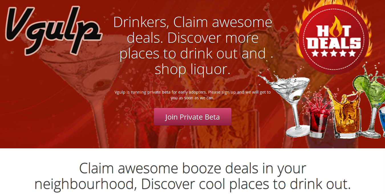 Vgulp - Grab a Deal on your next Drink and Thank these Guys!