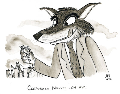 corporate wolves If Lions Were Entrepreneurs: The Tale of Fund Raising and Hunting