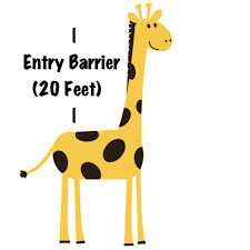 giraffe entry barrier If Lions Were Entrepreneurs: The Tale of Fund Raising and Hunting