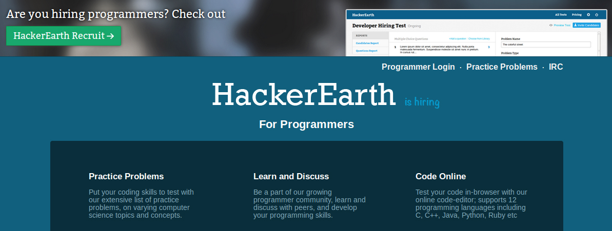 hackerearth 2 HackerEarth Connecting Developers with Opportunities Wants to Expand to US Market