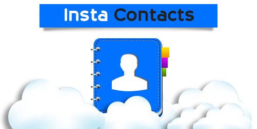 InstaContacts - Share, Organize and Restore Contacts effortlessly