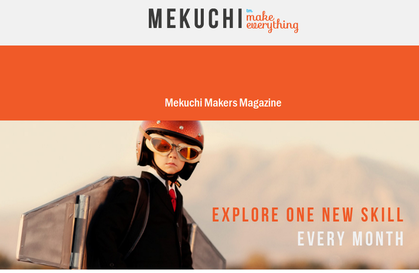 Mekuchi - Get your Free & Fun filled Magazine and Start Making!