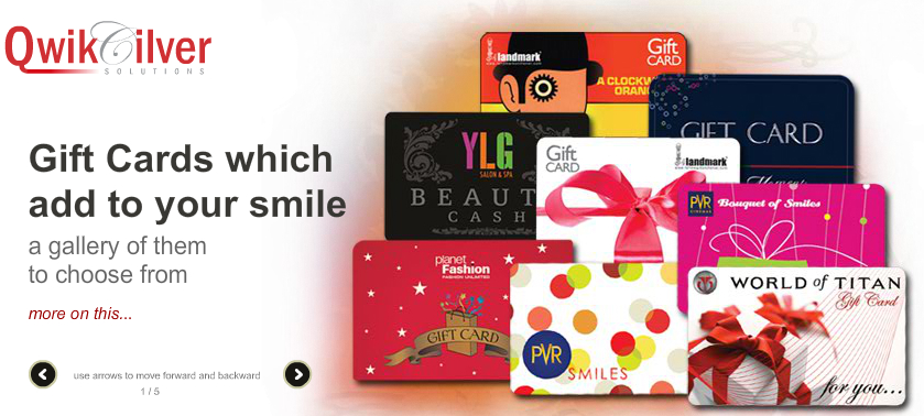 QwikCilver achieves 90% Market Share in Gift Card Technology
