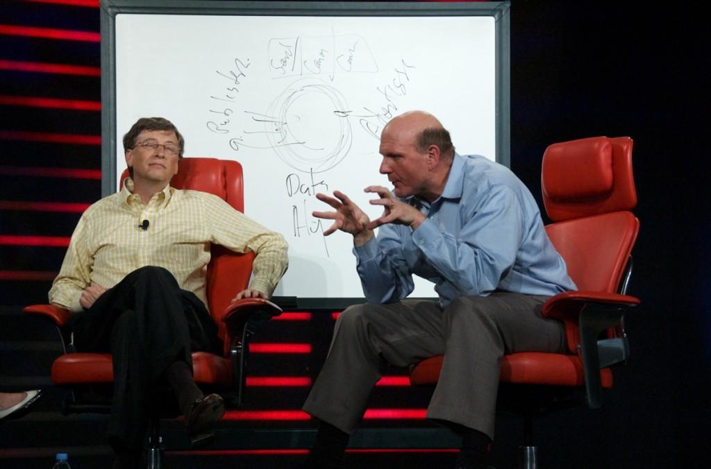 Bill Gates and Steve Ballmer