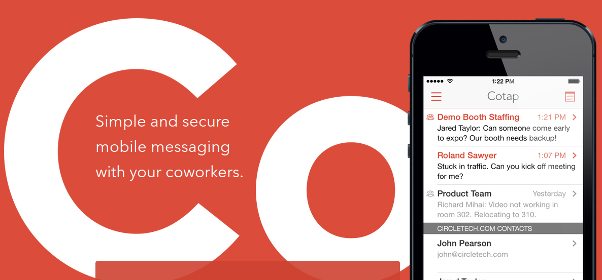 Cotap - Texting is the futre of Workplace Communication