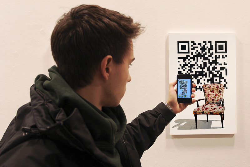 qr code shopping PayPal Soon to allow Payments Via QR Codes