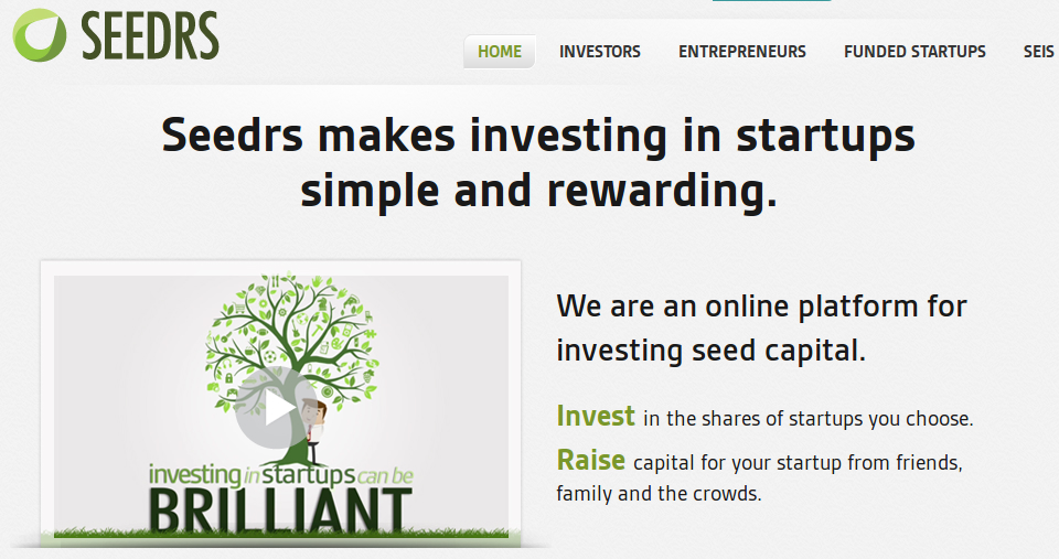 seedrs 2 Seedrs Offers chance to take a Stake in Ten Companies with a Single Investment