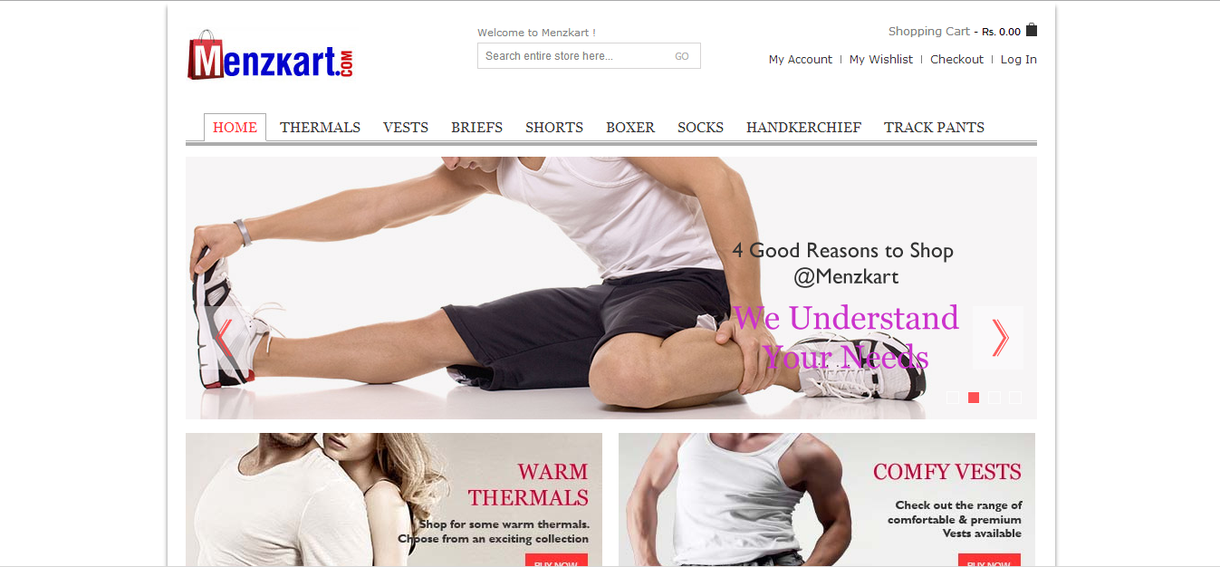 How underwear shopping became an inspiration for only-men e-commerce portal Menzkart