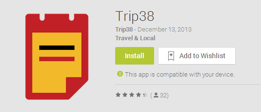 An Awesome Example For Geek Travelistas | Trip38 App Review