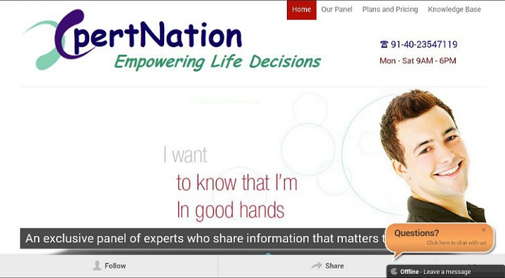 Xpertnation- Empowering Life Decisions with a Second Opinion from Medical Experts