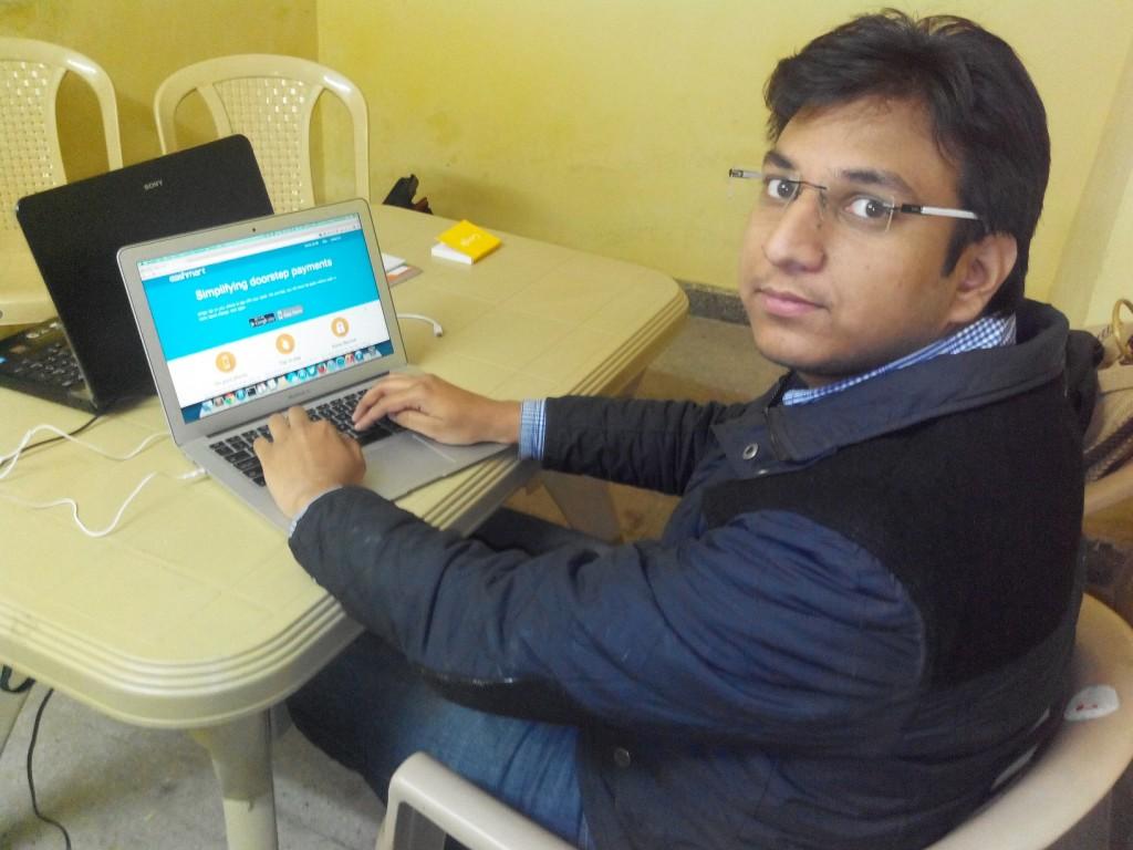 Amit Kumar 1024x768 Billing & Cashing Just A Tap Away: EashMart.com