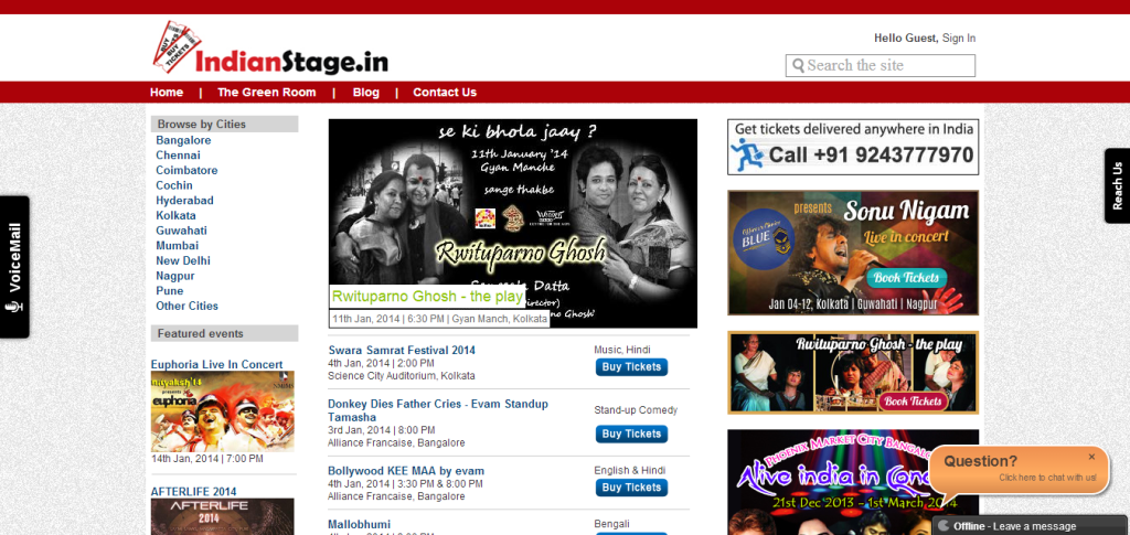 Indianstage 1024x485 Top 10 Ticketing Platforms in India