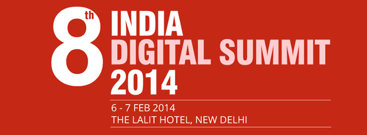Untitled10 8th INDIA DIGITAL SUMMIT 2014