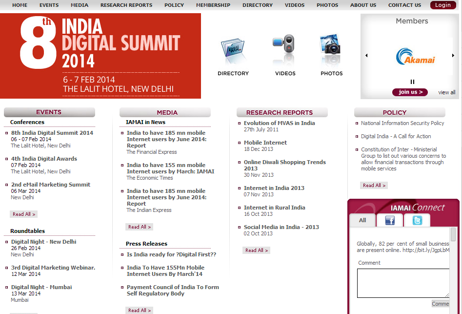 Untitled9 8th INDIA DIGITAL SUMMIT 2014