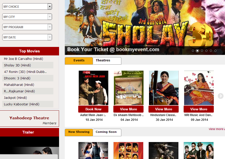 bookmyevents Top 10 Ticketing Platforms in India
