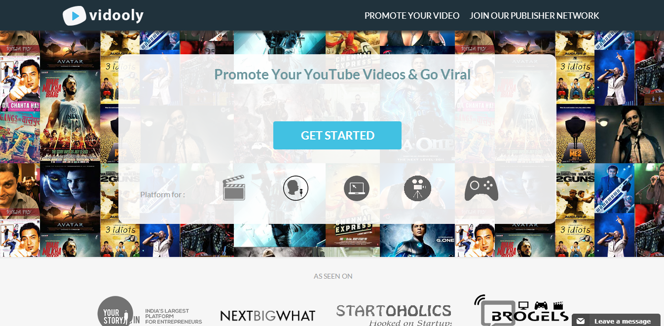 Vidooly- India's only self-served Youtube Video advertising network