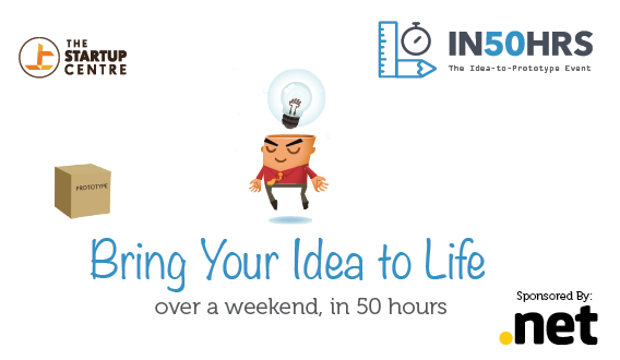 The Idea to Prototype Event  In50hrs is coming to Bangalore this February