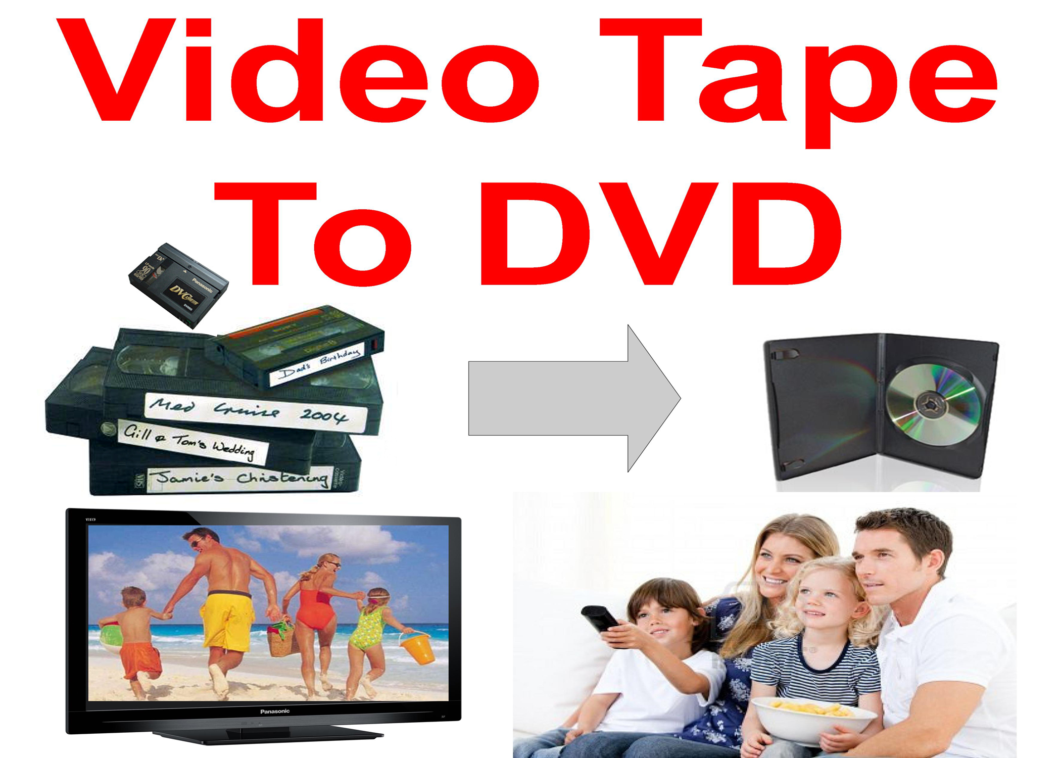 Transferring video tapes to DVD before it's too late