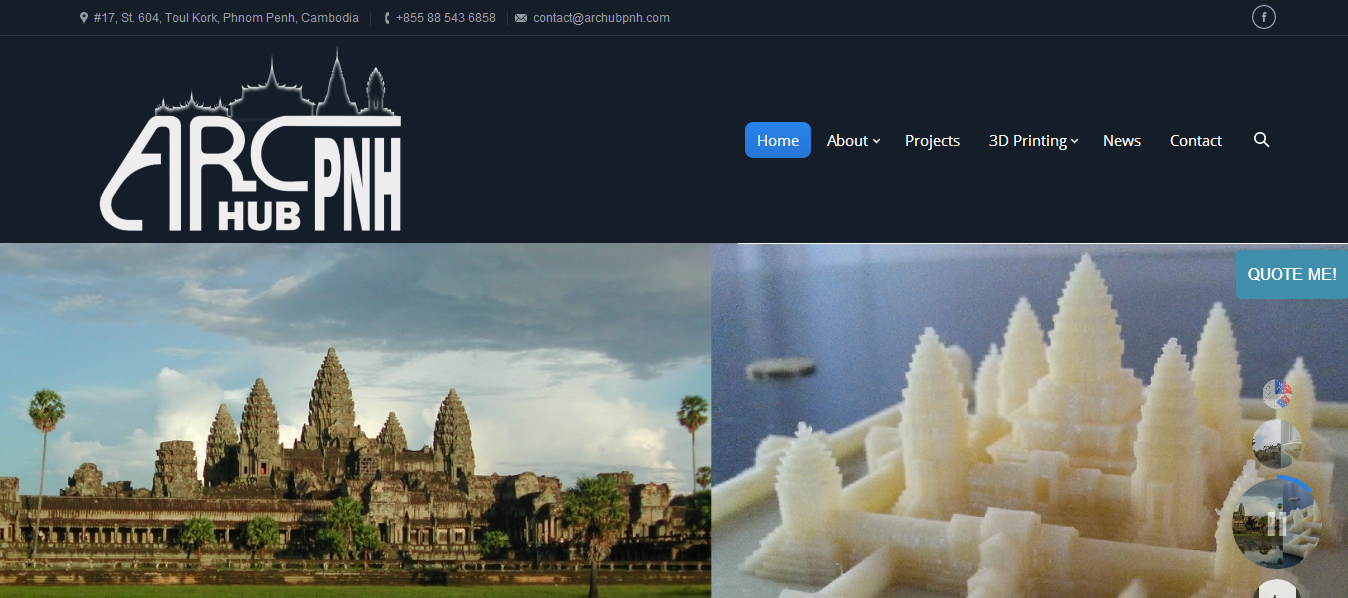 Brother duo launch First 3D Printing Startup in Cambodia - ArcHub Pnh